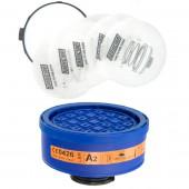 Filtr 100 LD P3 z prefitrami i pierścieniem mocującym