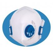 Płaska półmaska filtracyjna XF 110 V FFP1 NR D z zaworem wydechowym i regulowaną taśmą nagłowia