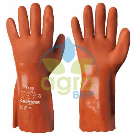 Rękawice winylowe/PCV Chemstar 109.1790 odporne chemicznie