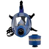 Maska pełnotwarzowa Spasciani TR2002 + filtropochłaniacz ABEK2P3