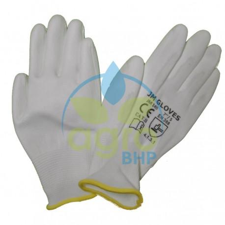 JM Gloves 140 Rękawice ochronne wykonane z poliestru powlekane poliuretanem