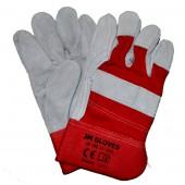 JM190 rękawice ochronne skórzane