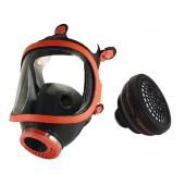 Maska pełnotwarzowa gumowa 731-R + pochłaniacz A2