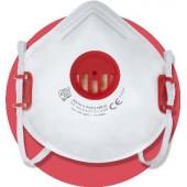 Półmaska filtracyjna X 210 V FFP2 NR D z zaworem wydechowym i regulowaną taśmą nagłowia