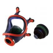 Maska pełnotwarzowa silikonowa 731-R + pochłaniacz K2