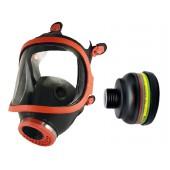 Maska pełnotwarzowa gumowa 731-R + pochłaniacz ABEK2