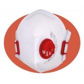 Płaska składana półmaska filtracyjna XF 210 V FFP2 NR D z zaworem wydechowym i regulowaną taśmą nagłowia