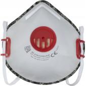 Półmaska filtracyjna z akywnym węglem XC 210 V FFP2 RD