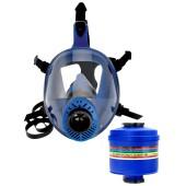Maska pełnotwarzowa Spasciani TR2002 z filtropochłaniaczem UP3