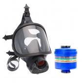 Maska pełnotwarzowa Spasciani TR82 + filtropochłaniacz UP3
