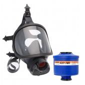 Maska pełnotwarzowa Spasciani TR82 + filtropochłaniacz AXP3
