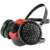 Maska Climax 756-R z dwoma filtrami K1