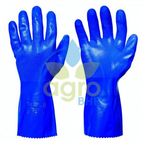 Rękawice nitrylowe Granberg odporne chemicznie długość 30cm