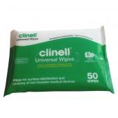Chusteczki dezynfekcyjne Clinell op. 50 szt.
