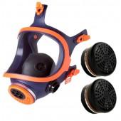 Maska pełnotwarzowa 732-N + 2 filtropochłaniacze A1P3