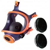Maska pełnotwarzowa 732-N + 2 pochłaniacze P3